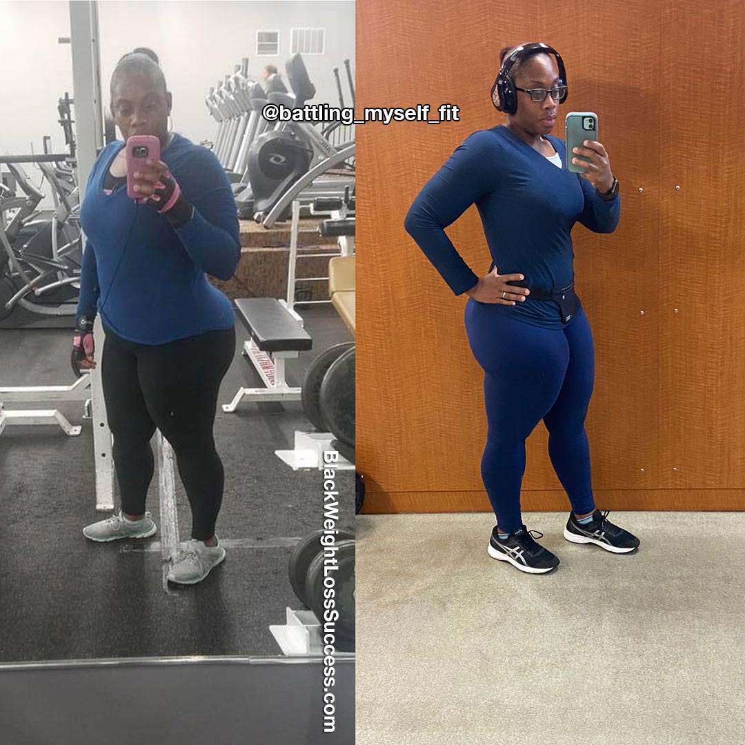 Tiffany lost 106 pounds
