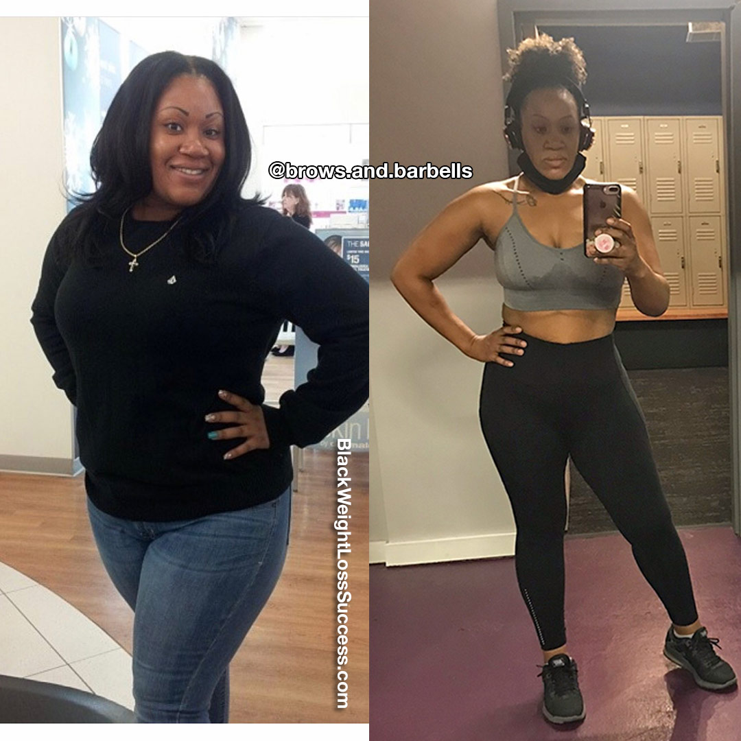Tracey lost 80 pounds
