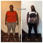 Aneshia before and after weight loss