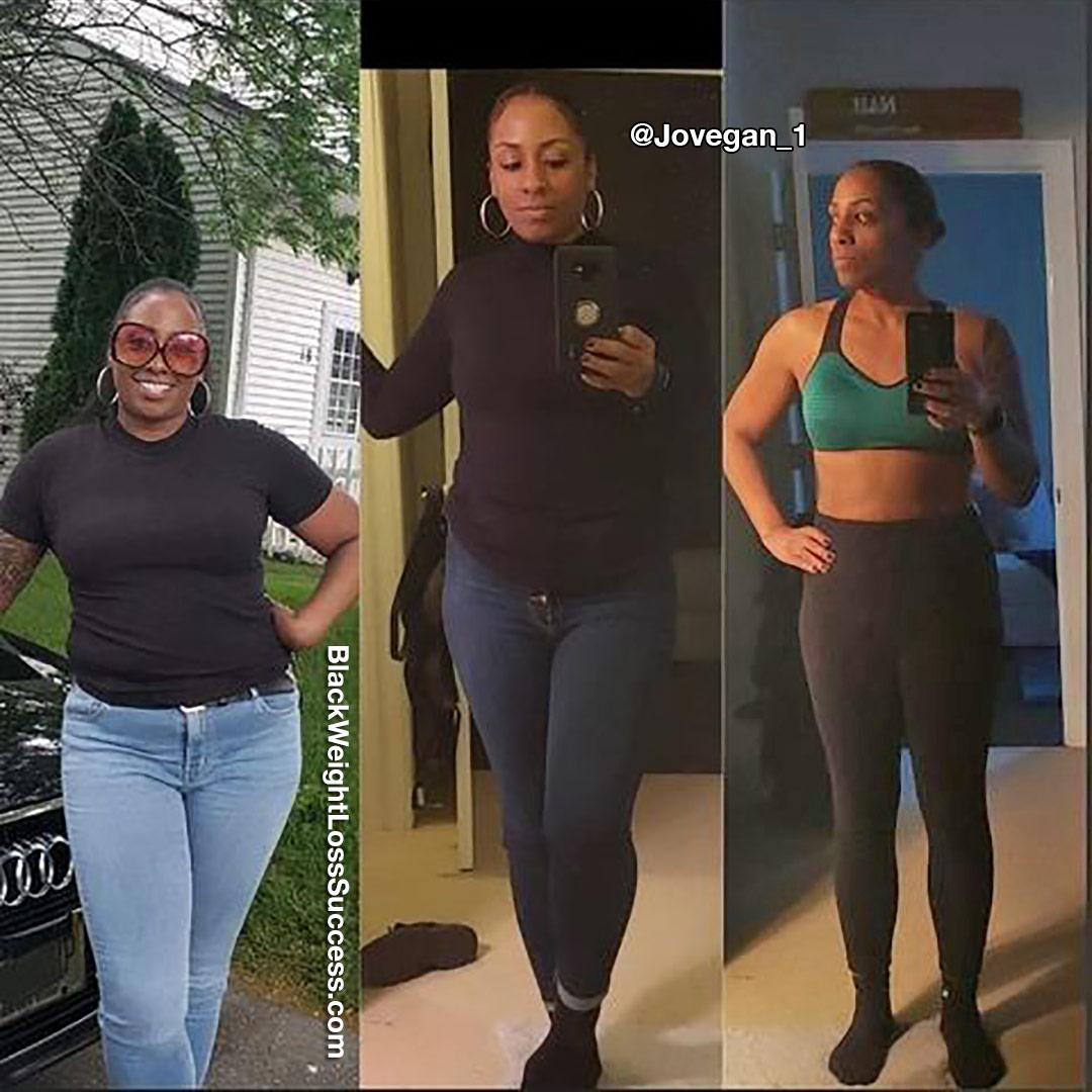CJ lost 53 pounds