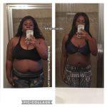 Chigozie lost 90 pounds