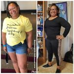 Chrischeryl before and after weight loss