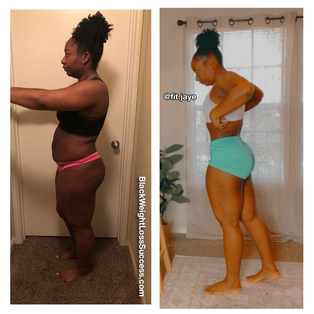 Jeanelle before and after