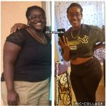 Monica lost 97 pounds
