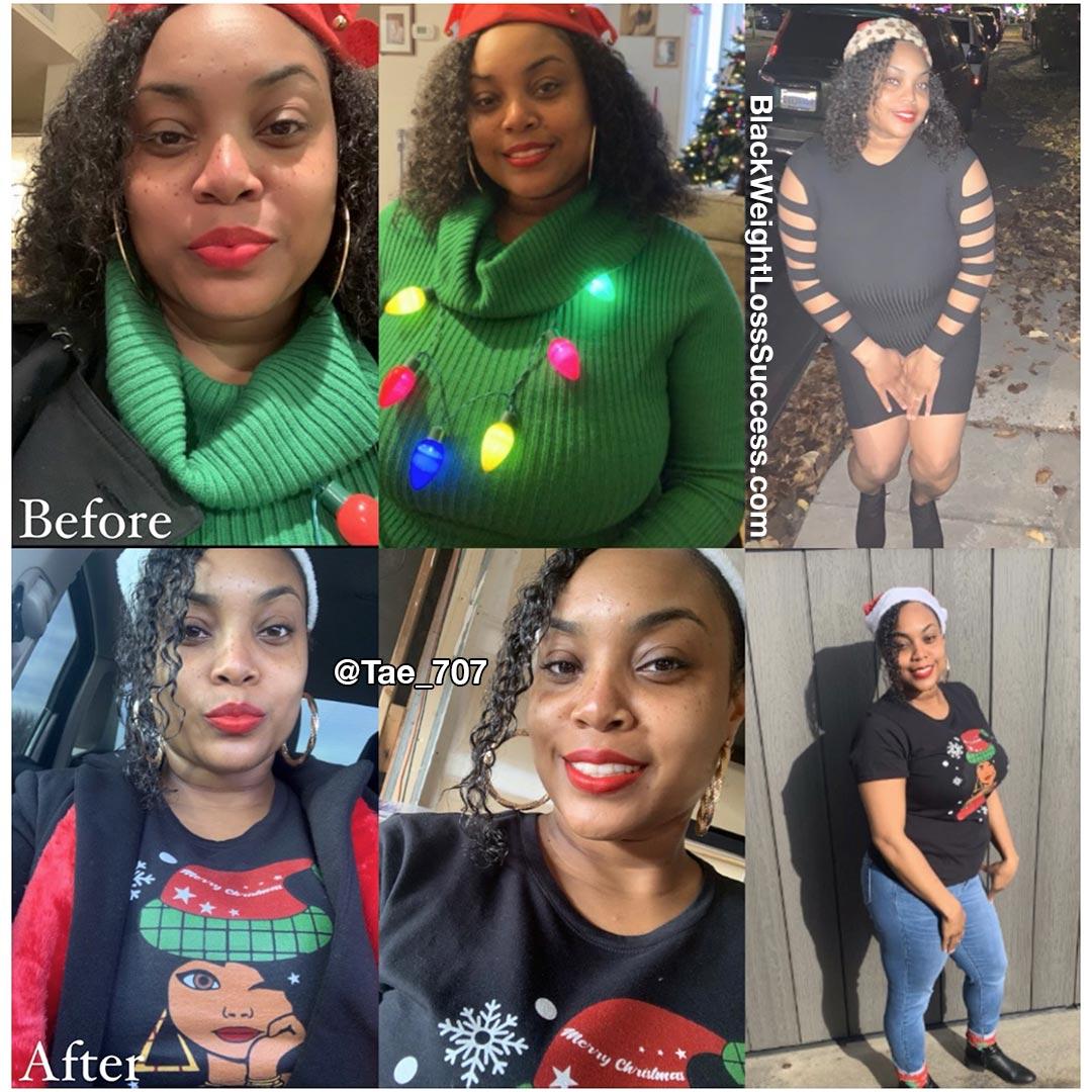 Shanti lost 60 pounds
