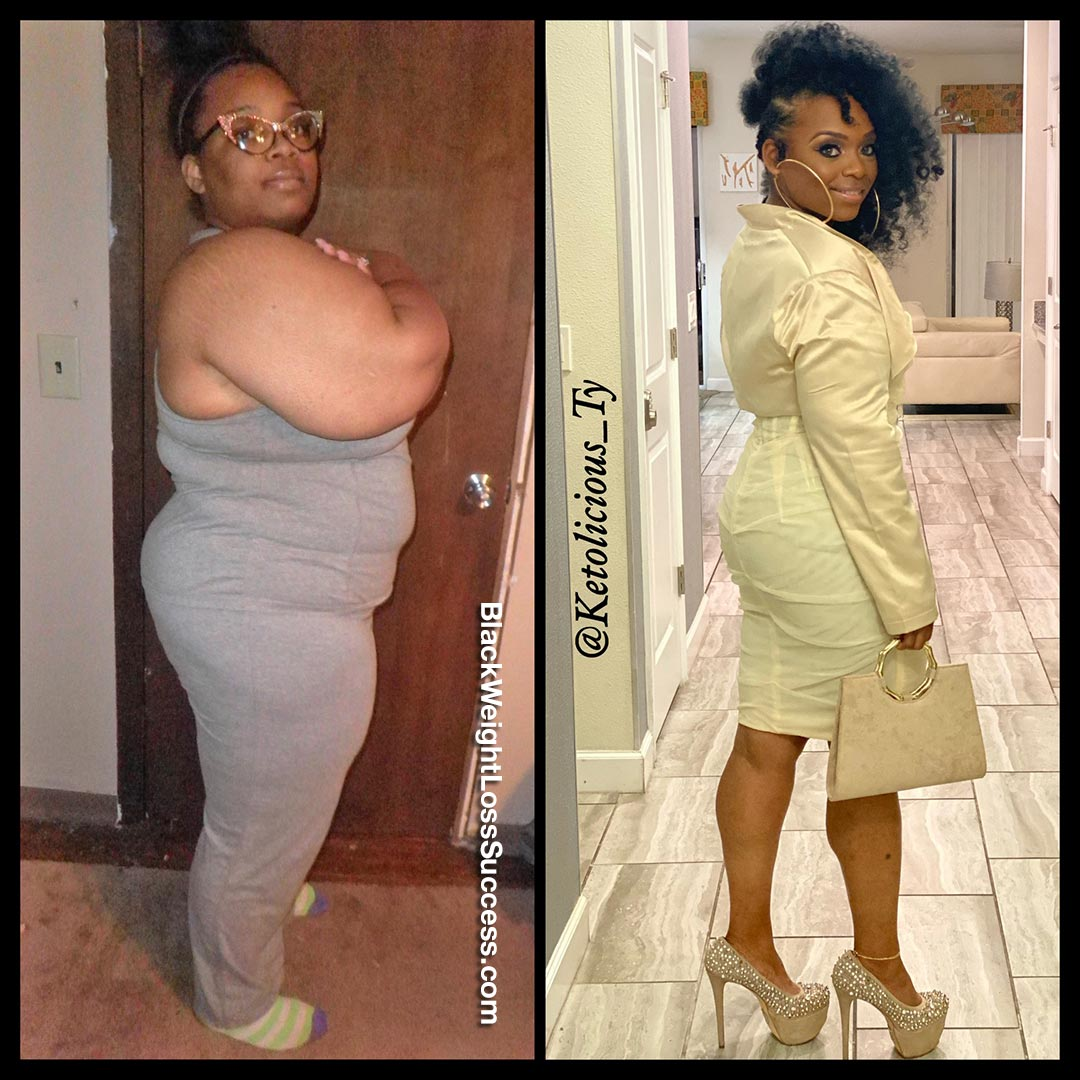 Tynisha lost 110 pounds