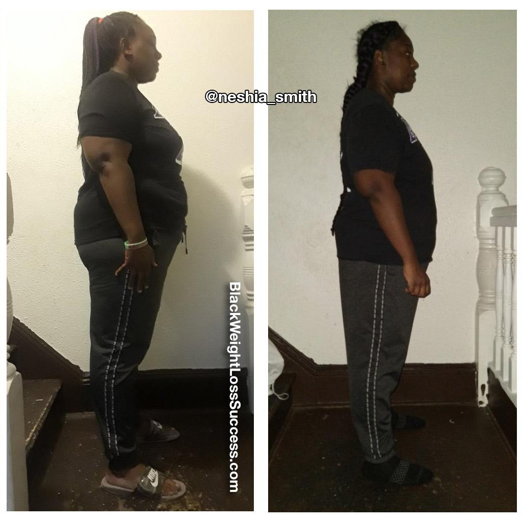 aneshia lost 44 pounds