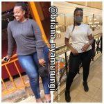 Briana before and after weight loss