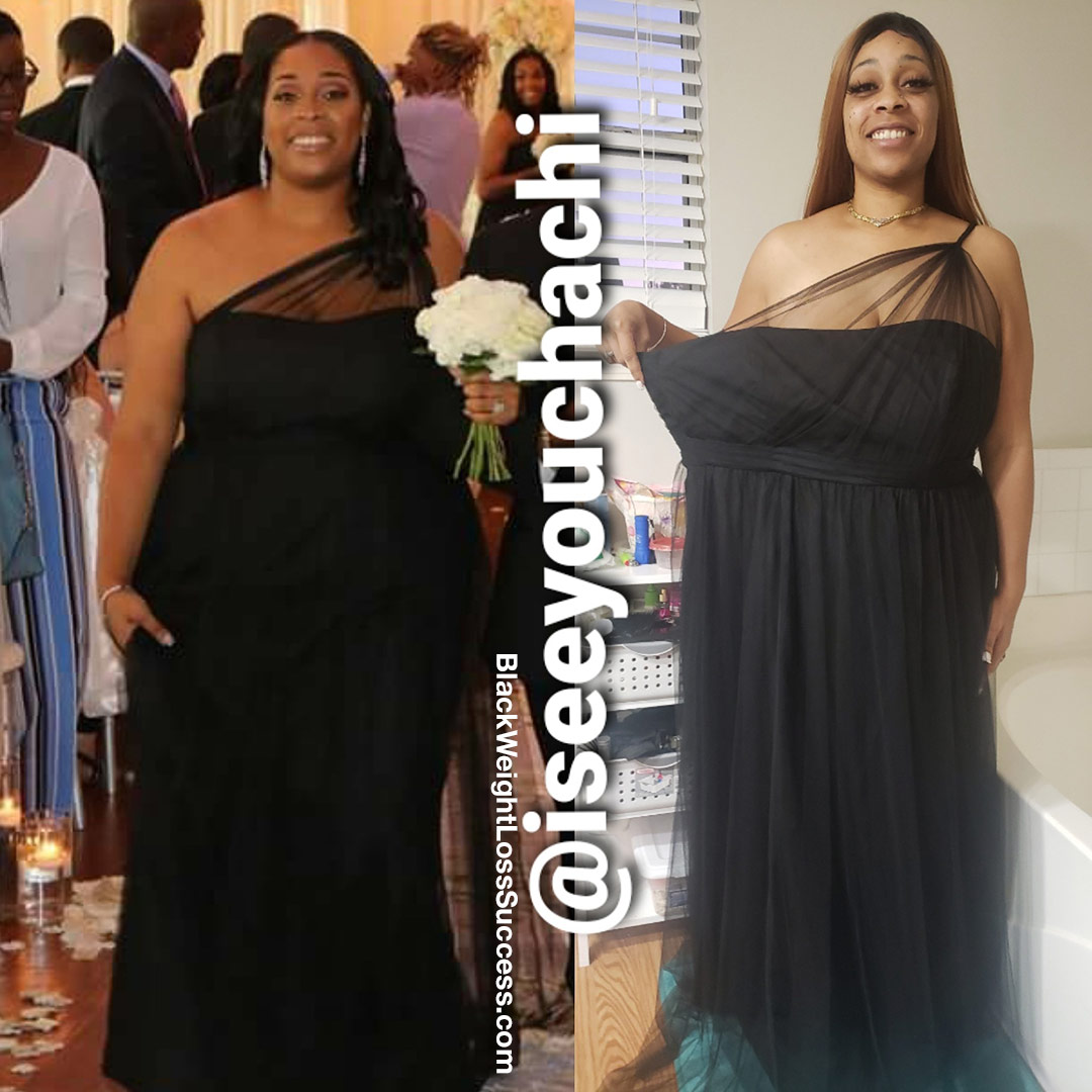 Chachi before and after weight loss
