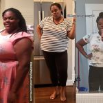 Jacquay before and after weight loss