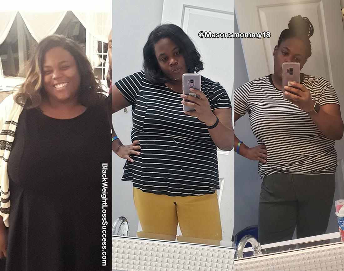 Jacquay lost 80 pounds