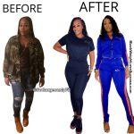 Jennifer before and after weight loss