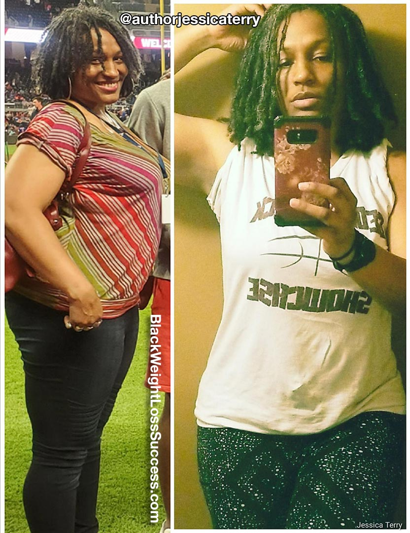 Jessica before and after weight loss