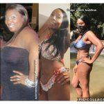Latisha lost 70 pounds