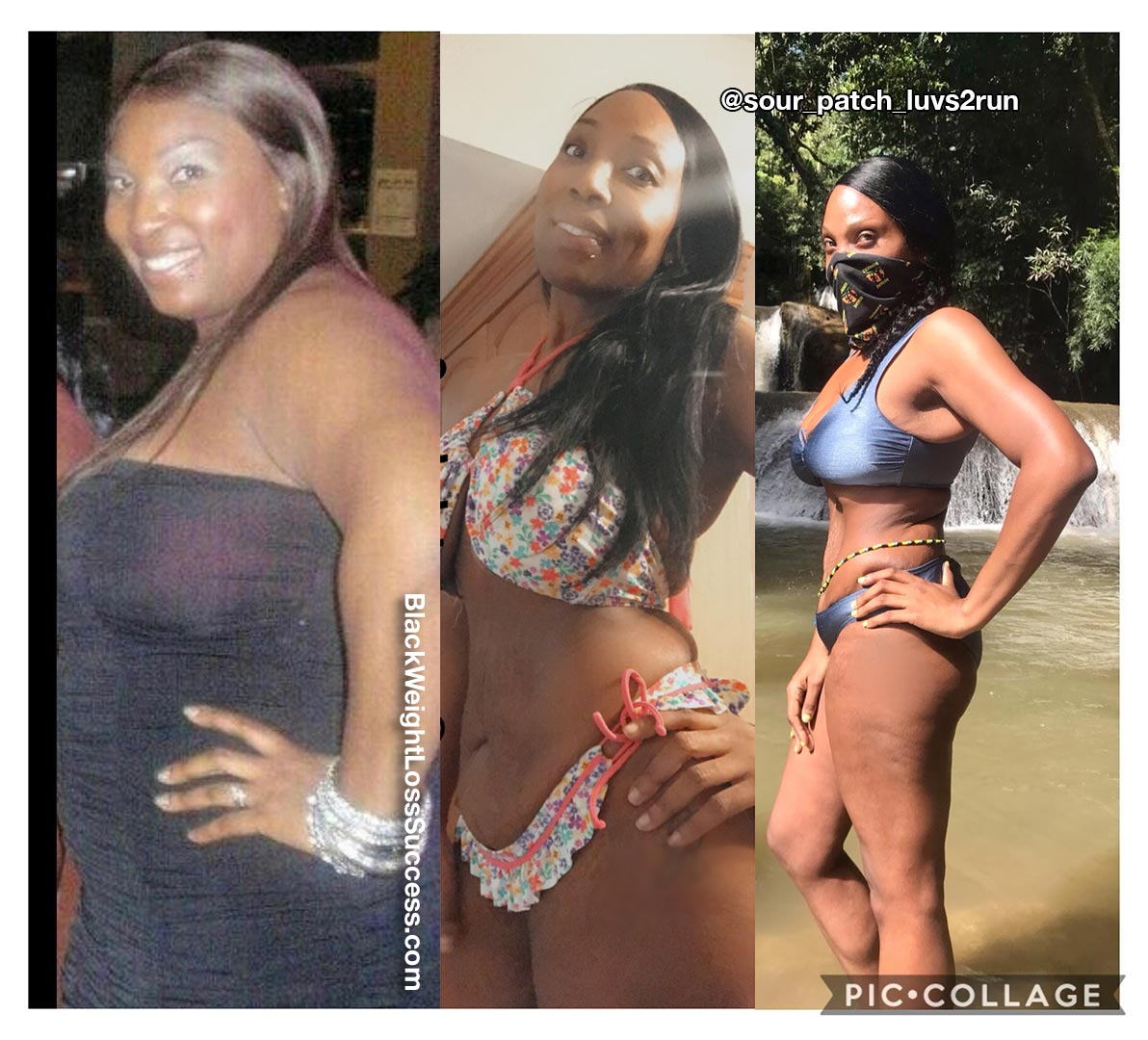 Latisha lost 70 pounds