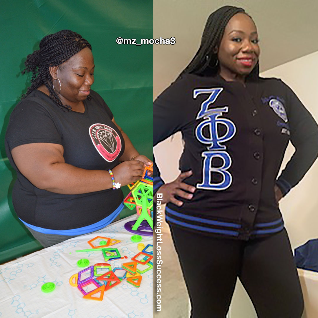Renee before and after weight loss