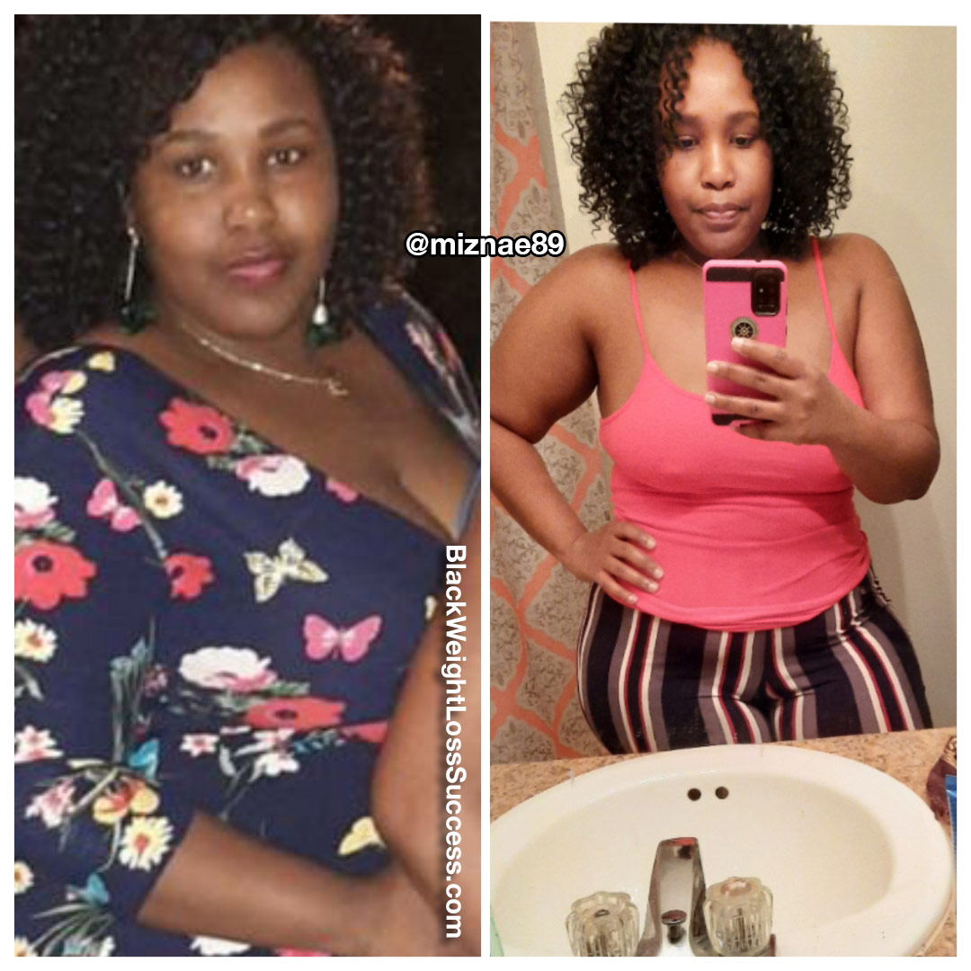 Shanea lost 56 pounds