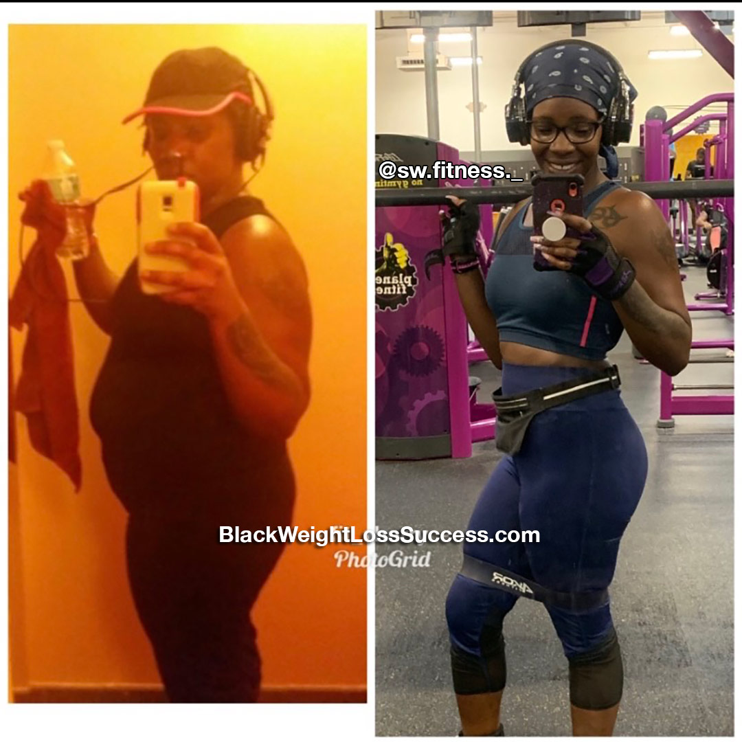Sherry lost 55 pounds