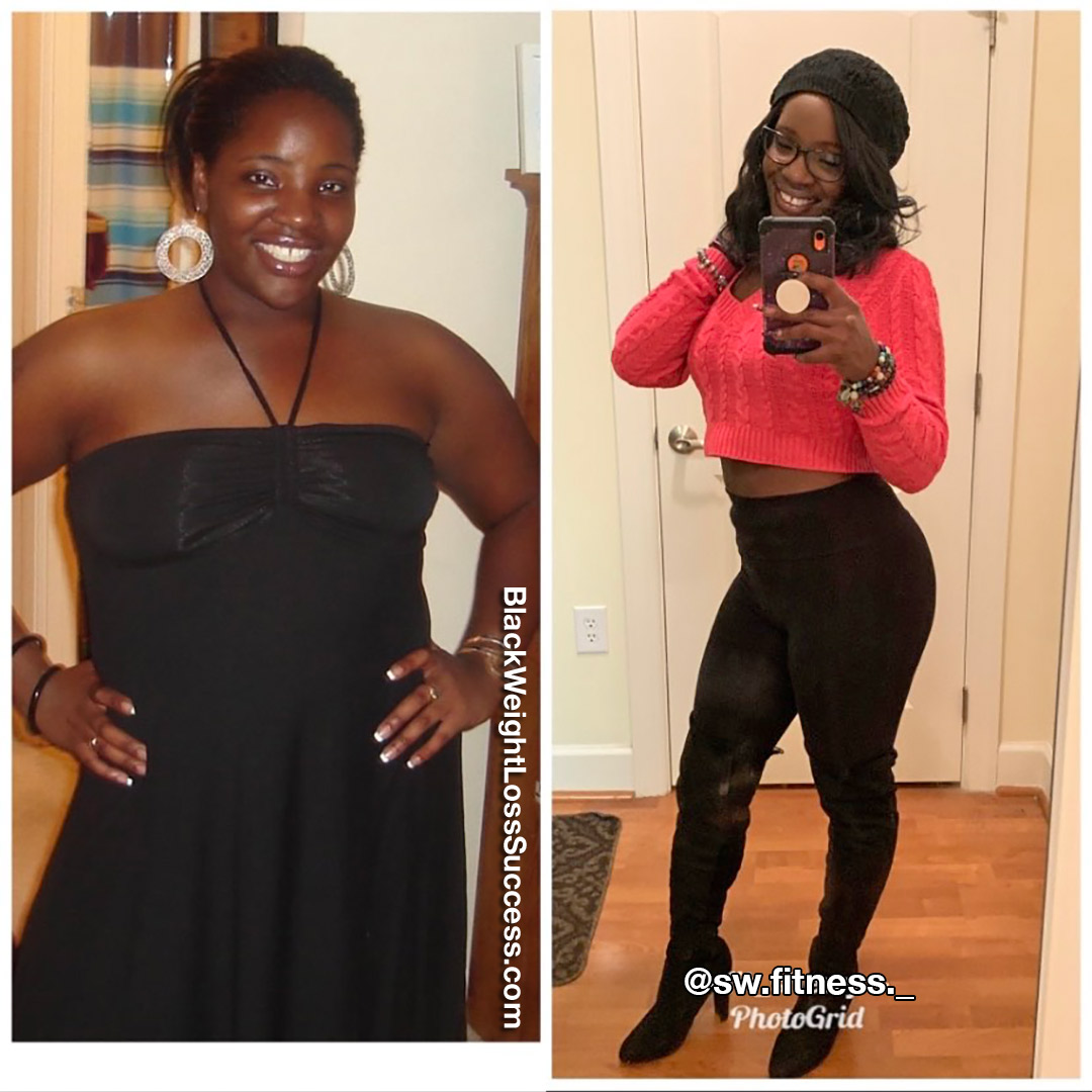 Sherry before and after weight loss