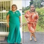 Tessy lost 22 kg