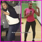 Tosha before and after weight loss