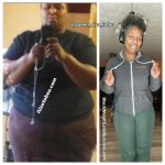 Trina before and after weight loss