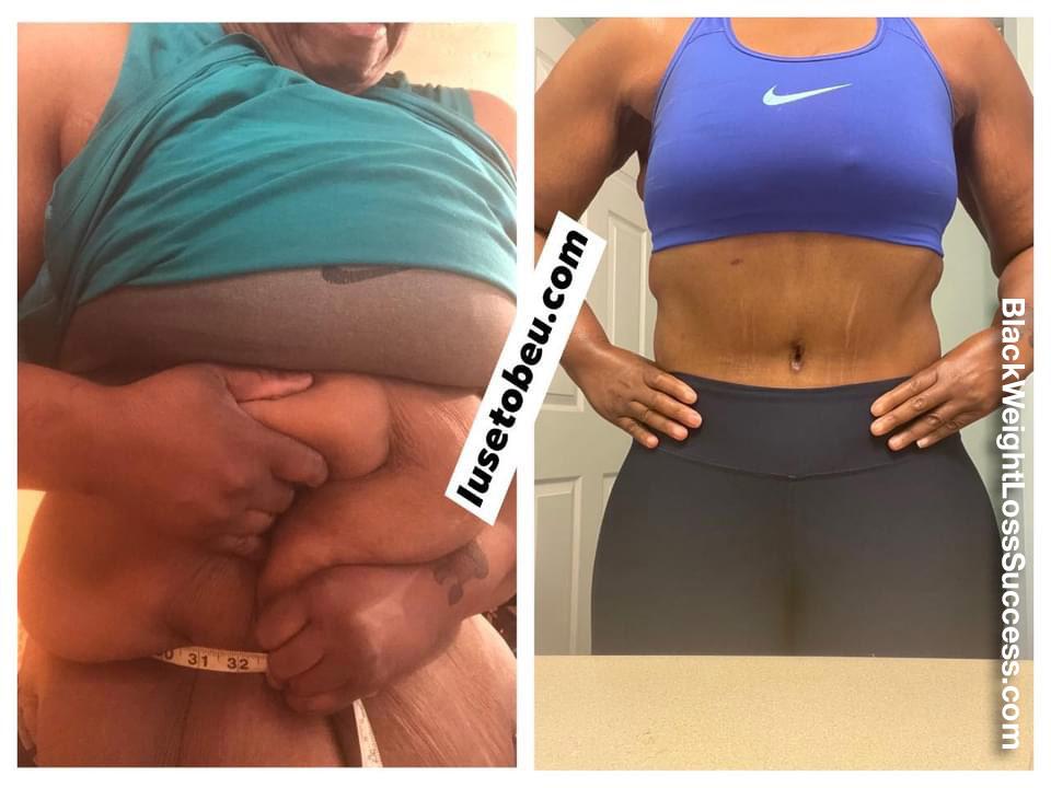 Trina lost 220 pounds