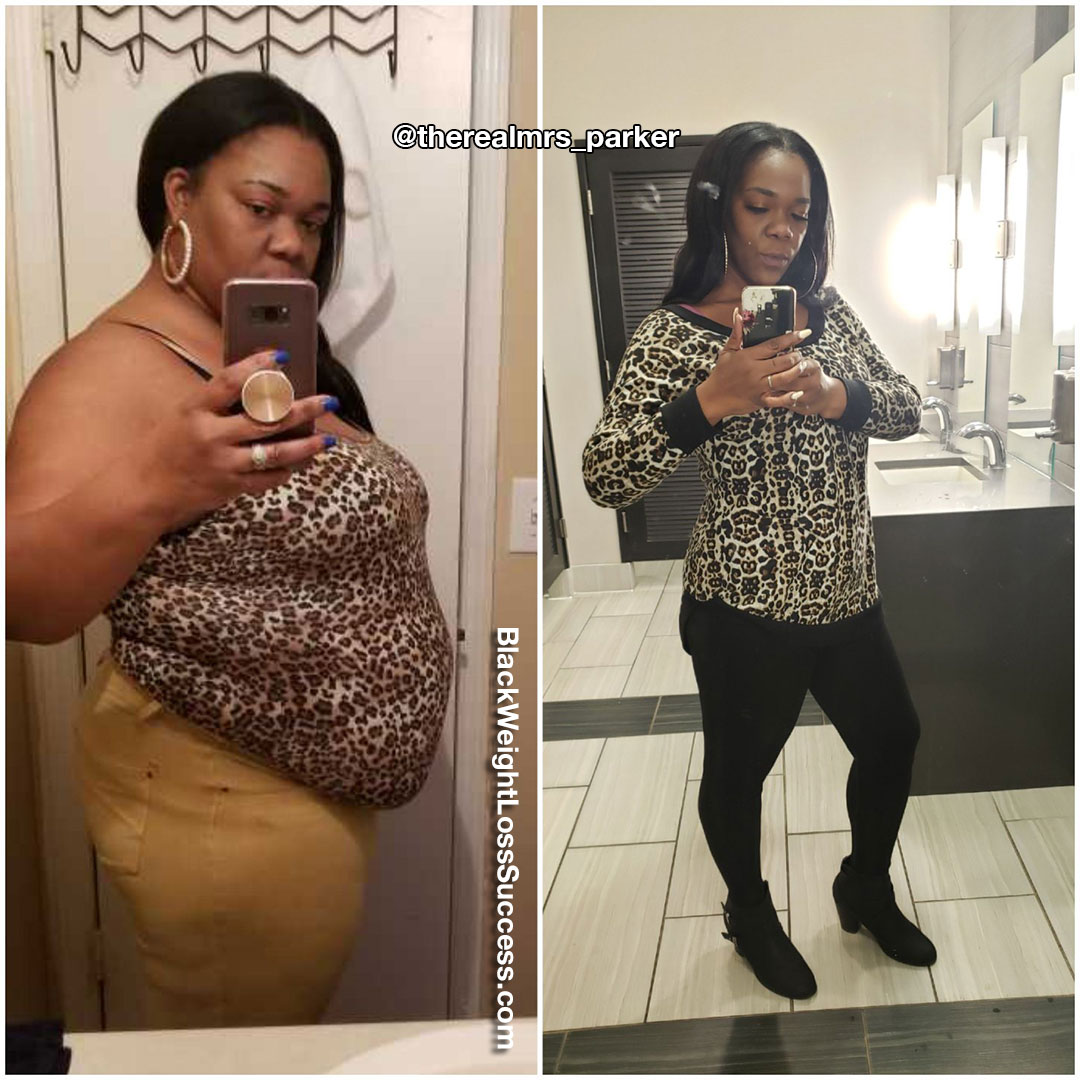 Yaya lost over 100 pounds