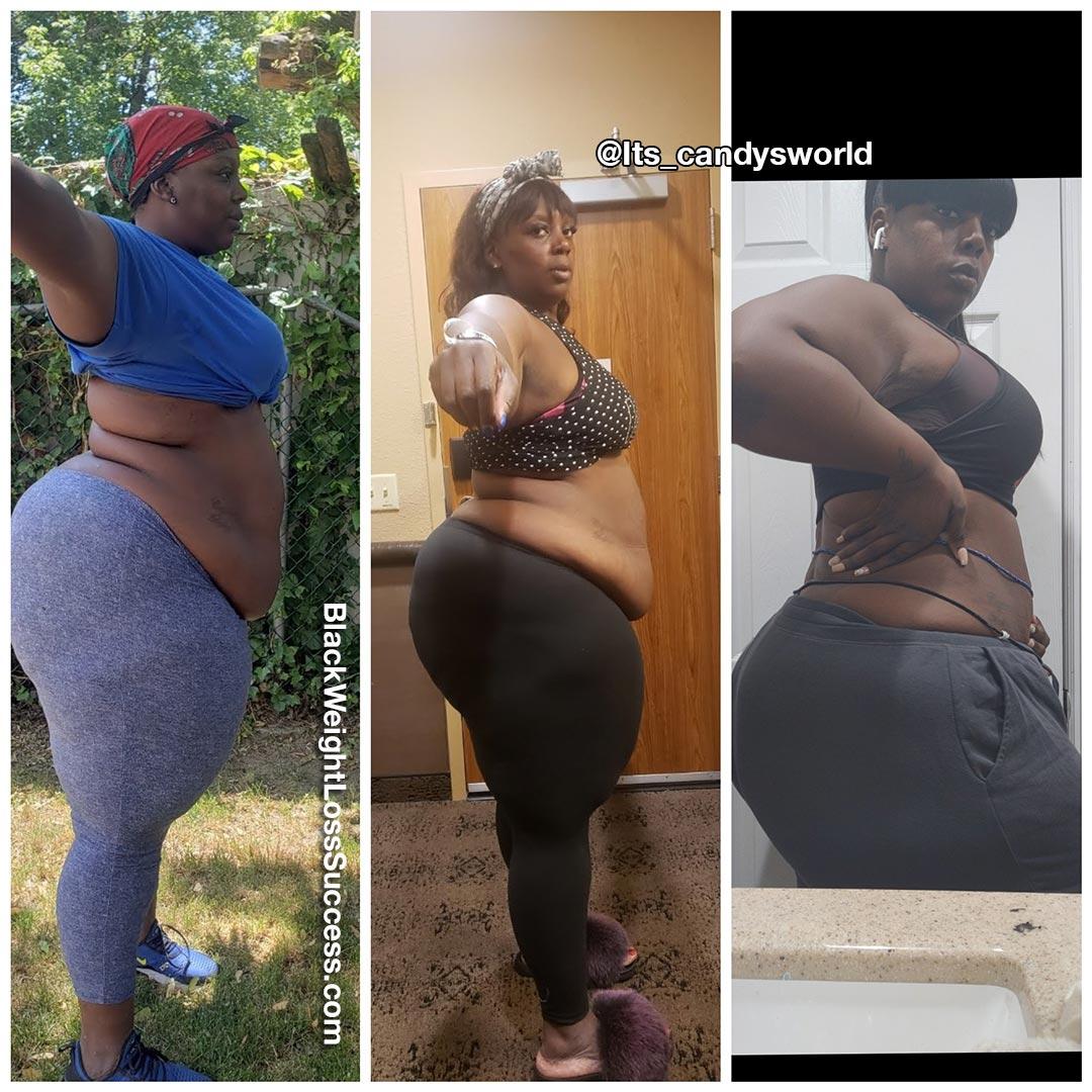 Candace lost 71 pounds