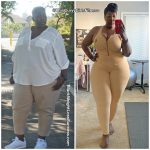 Janae before and after weight loss