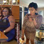 LaRhonda lost 54 pounds