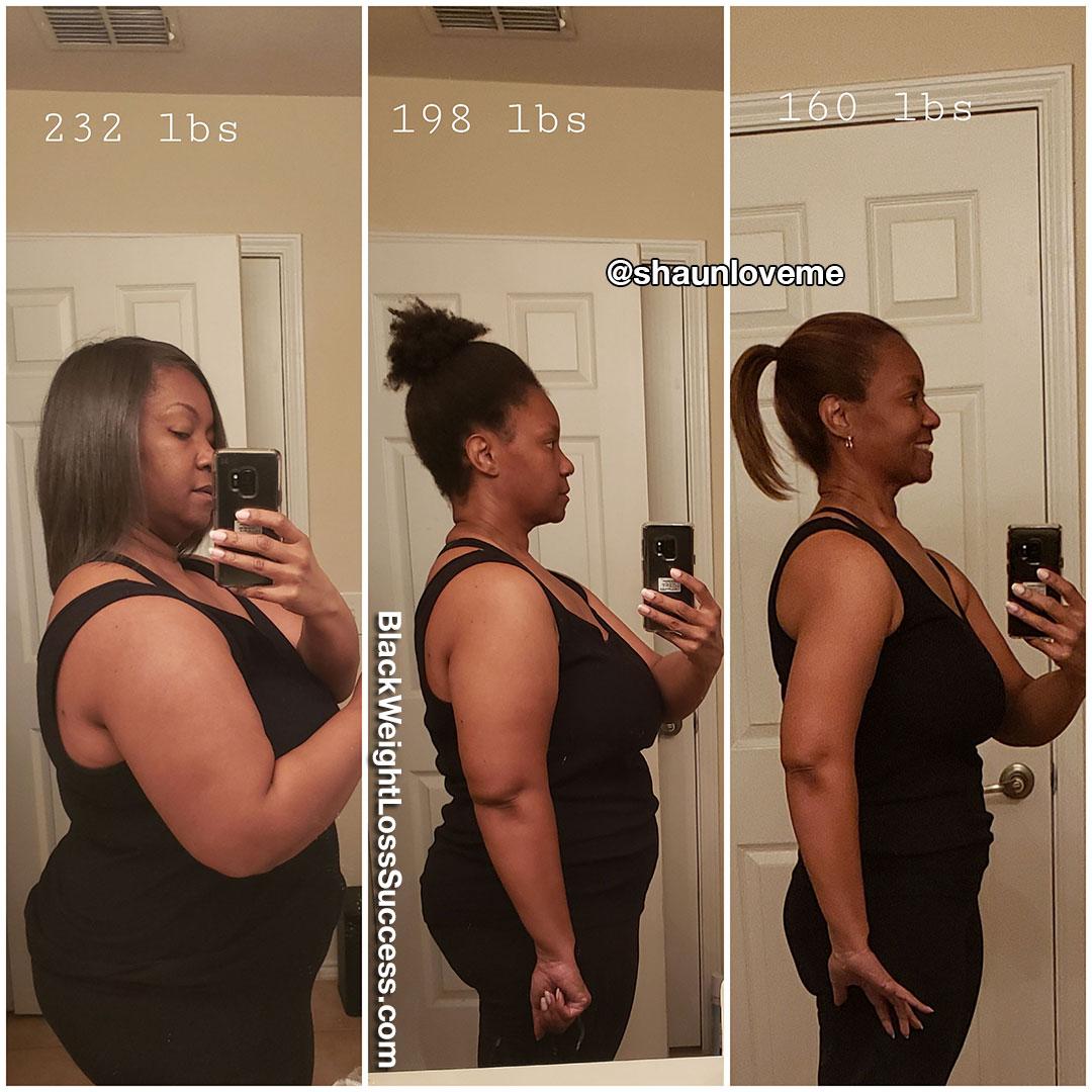 LaShaunda before and after