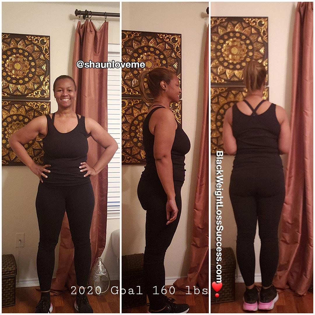 LaShaunda lost 72 pounds