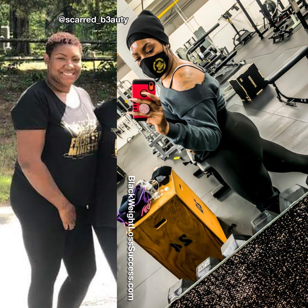 Shawnna lost 30 pounds