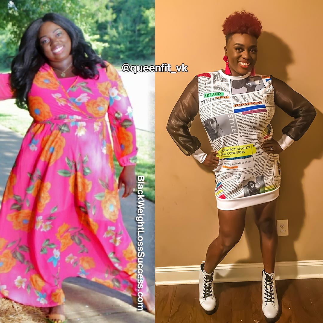 Venesia before and after weight loss
