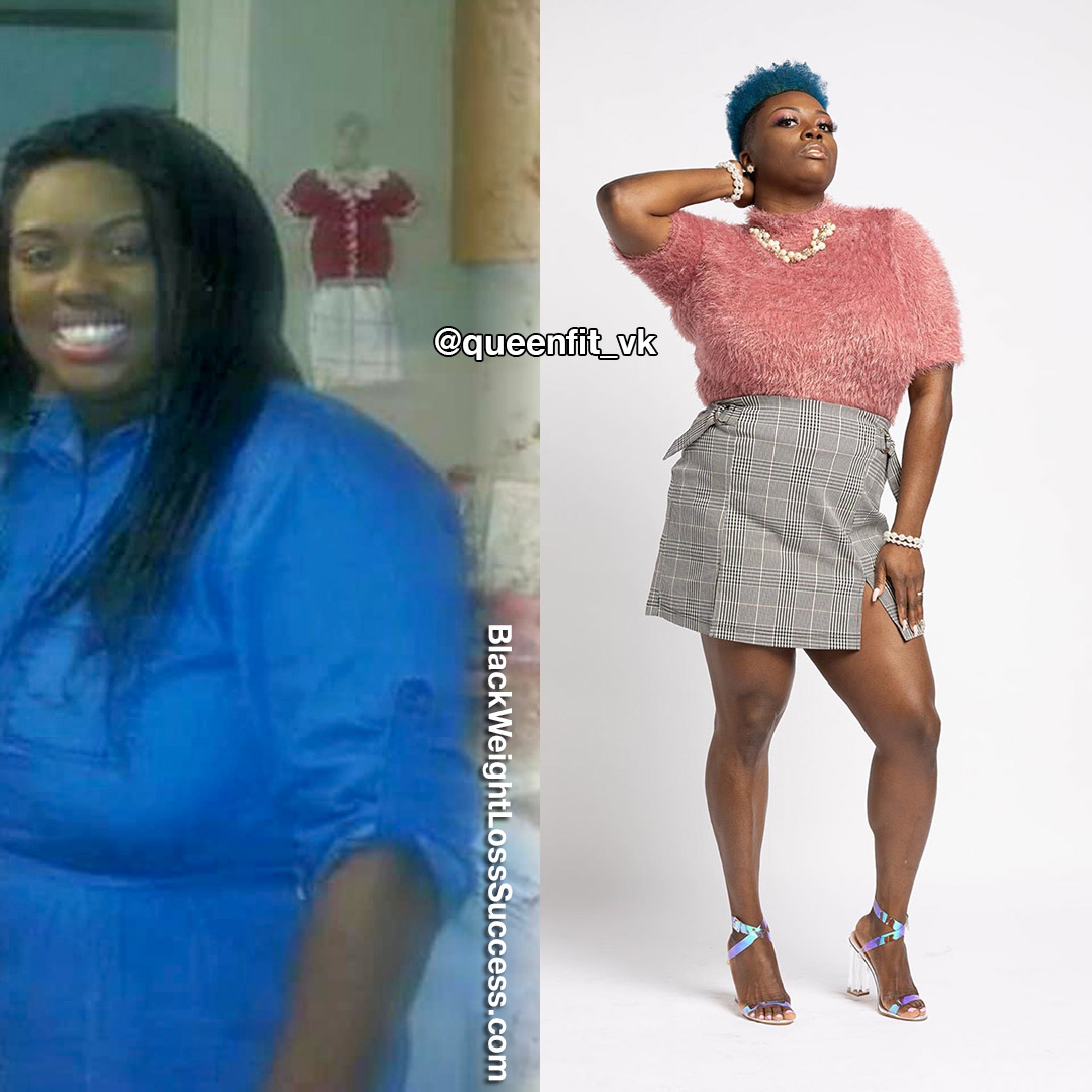 Venesia lost 60 pounds