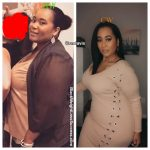 Candice lost 106 pounds