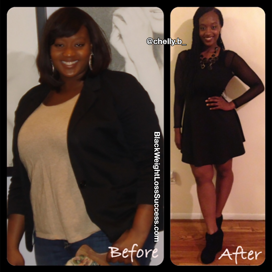 Chelly before and after