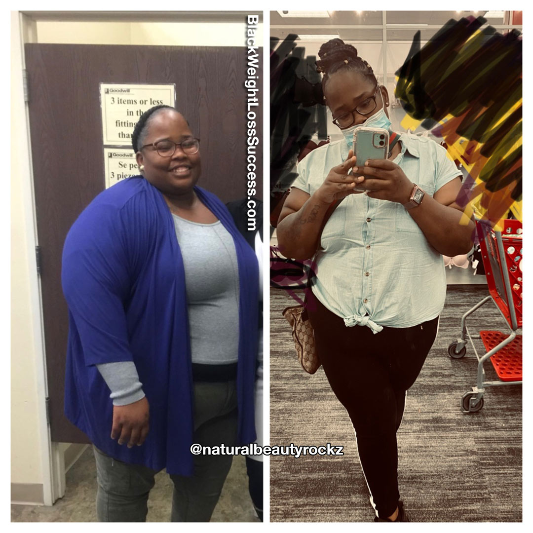 Janet lost 117 pounds