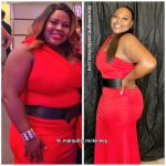 Marquita lost 61 pounds
