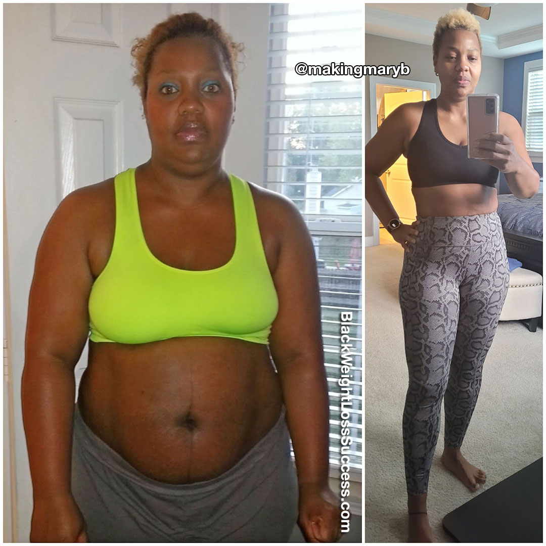 Mary lost 86 pounds