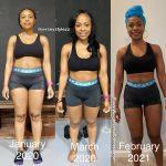 Rachel lost 30 pounds