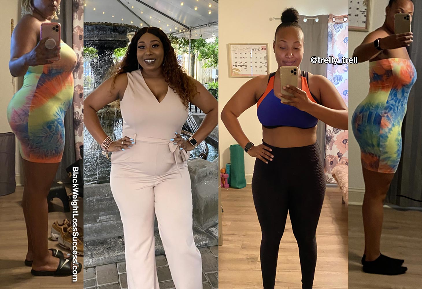Shantrell lost 45 pounds