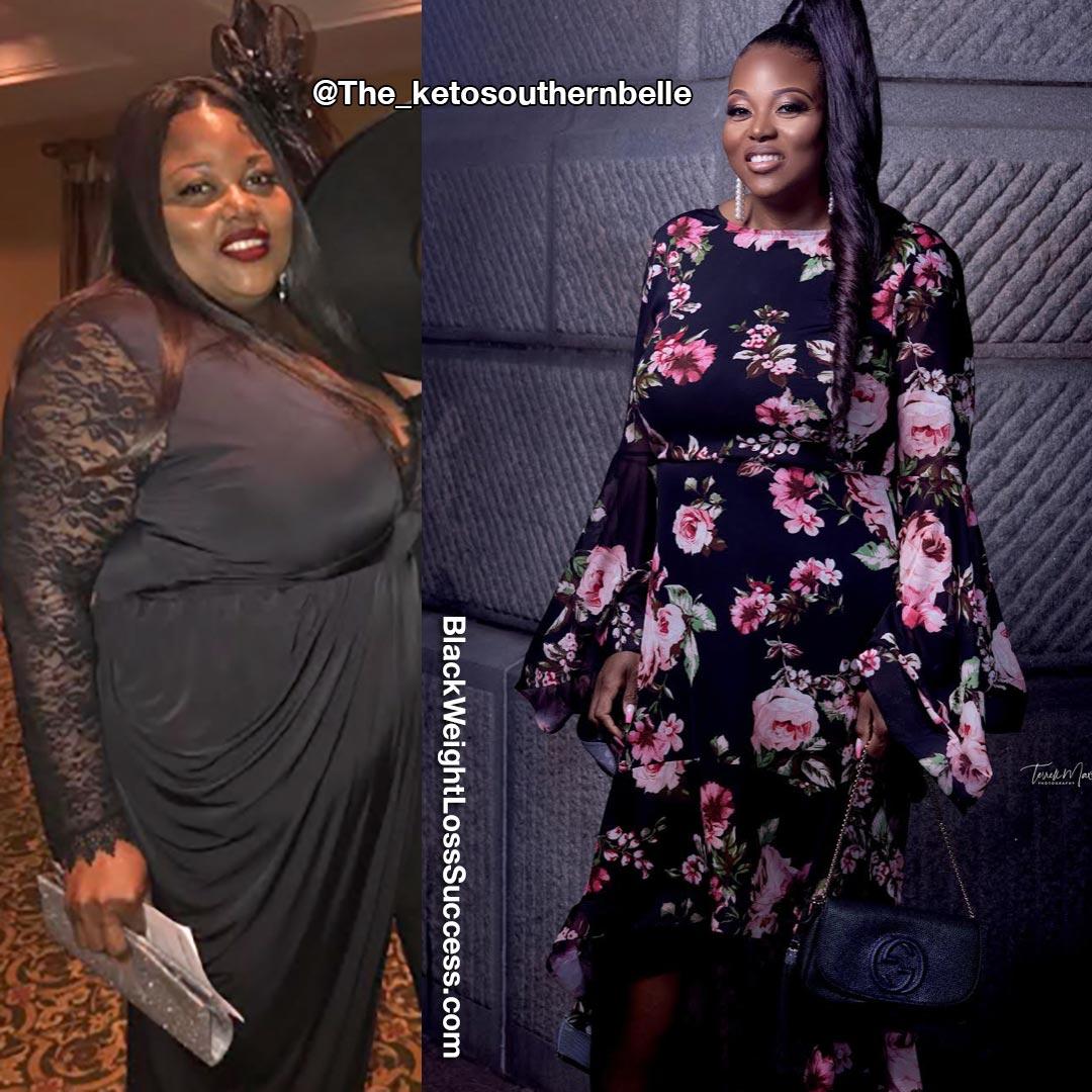 Tasha lost 115 pounds