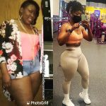 Lessie lost 70 pounds