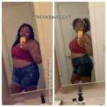 Teila before and after weight loss