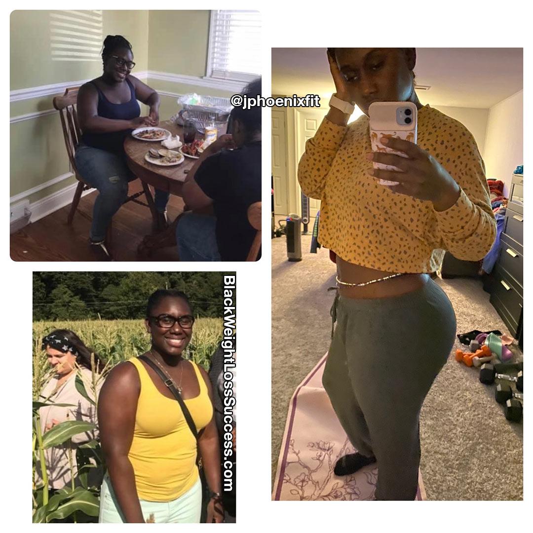 Brittnee lost 36 pounds
