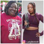 Chandra lost 65 pounds