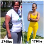 Dee lost 99 pounds