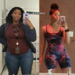 Gigi before and after weight loss